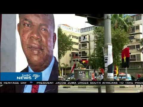 Angola's new president Joao Lourenco will be sworn in on Tuesday