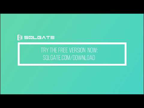SQLGate Main Features (ENG)