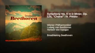 "Symphony No. 9 in D Minor, Op. 125, ""Choral"": IV. Presto"