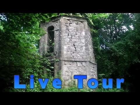 live tour exploring the ruins of an ancient pigeon loft