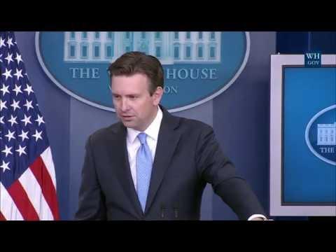 7/13/16: White House Press Briefing