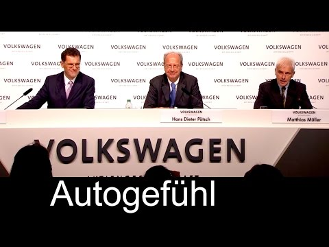 VW Volkswagen Dieselgate emission scandal press conference Q&A with CEO and Chairman