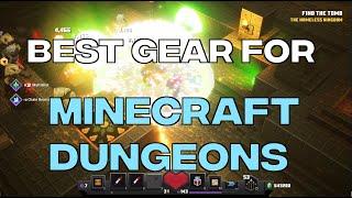 Best Gear For Minecraft Dungeons