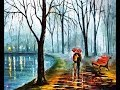 Поделки - Алмазная вышивка по картине Леонида Афремова INSIDE THE RAIN