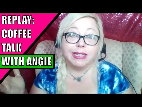 #MondayMotivation: LIVE NOW! Coffee & Subscriber Hangout with Angie Atkinson