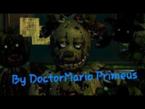 [REUPLOAD]Fnaf 3 Sparta Remix By DoctorMario Primeus
