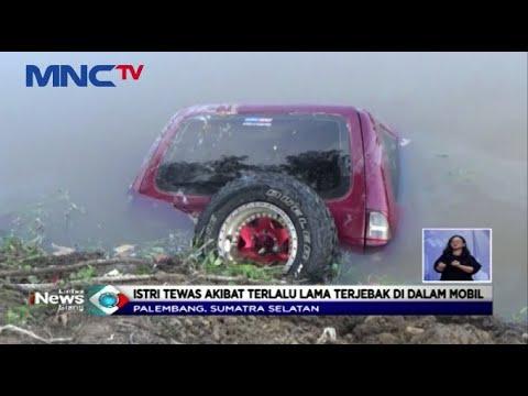 Pasutri di Palembang Terjun ke Sungai Akibat Lepas Kendali saat Belajar Setir Mobil - LIS 17/02