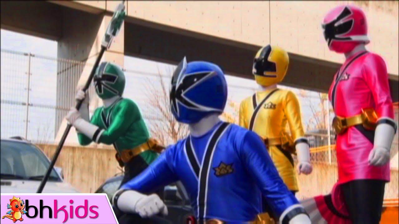 Siêu Nhân Thần Kiếm Tập 1 Full HD – 5 kiếm sĩ xuất hiện
