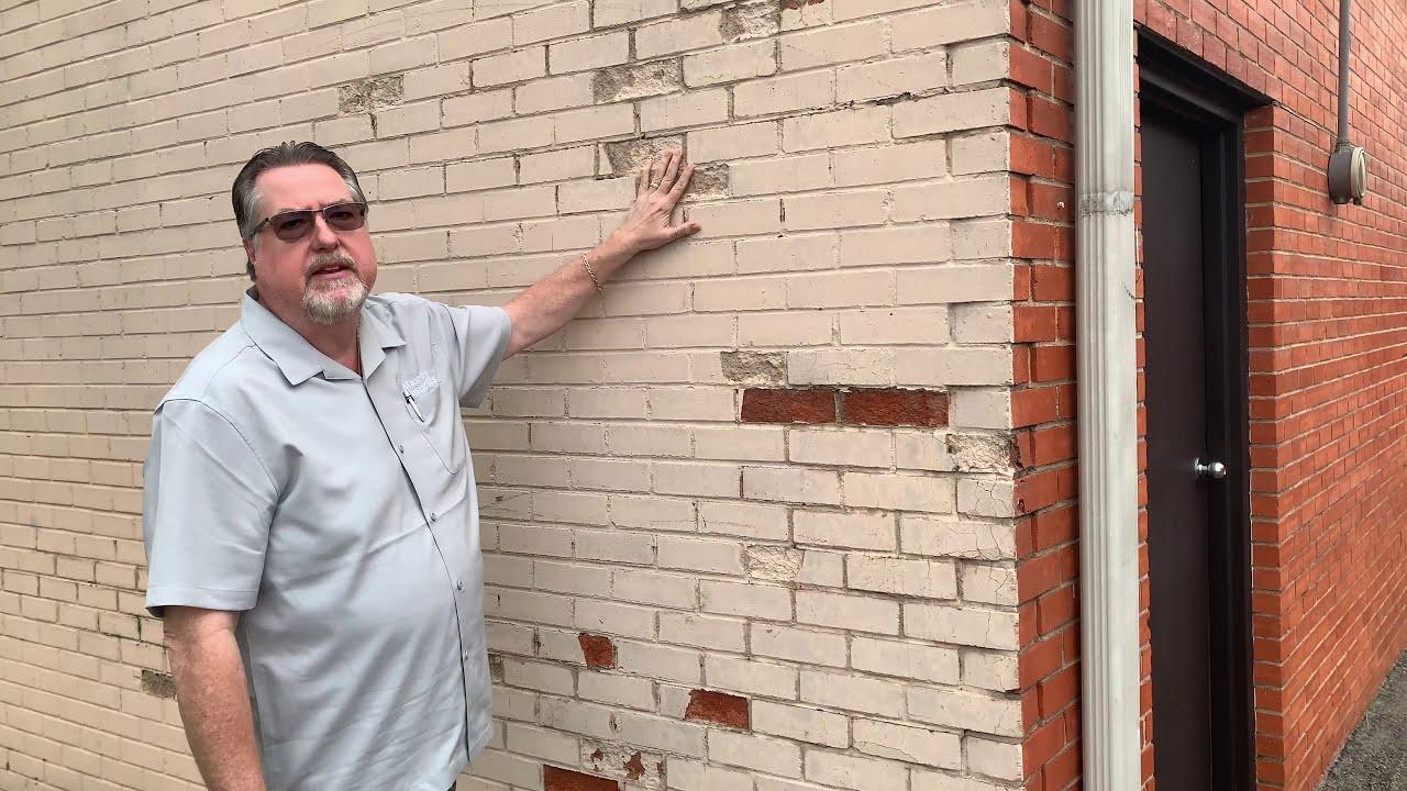 """The Brickman"" on painting brick (Feb 2020)"