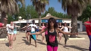 Danse du camping Le Méditerrannée VALRAS PLAGE 2016 - vidéo officielle