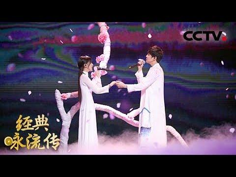 [经典咏流传 纯享版]绝美!李炜携手阿兰深情对唱《桃花缘》 | CCTV