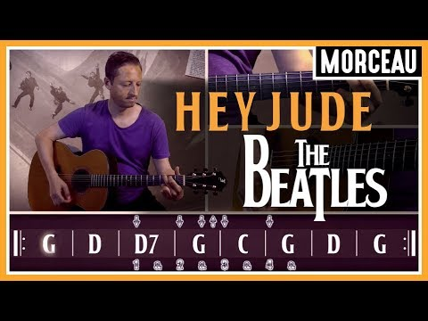Cours de Guitare : Apprendre Hey Jude des Beatles
