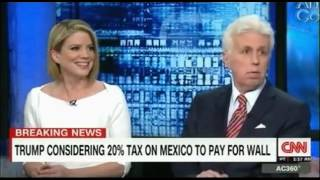 Trump Considering a 20% tax to pay for the Wall with Mexico