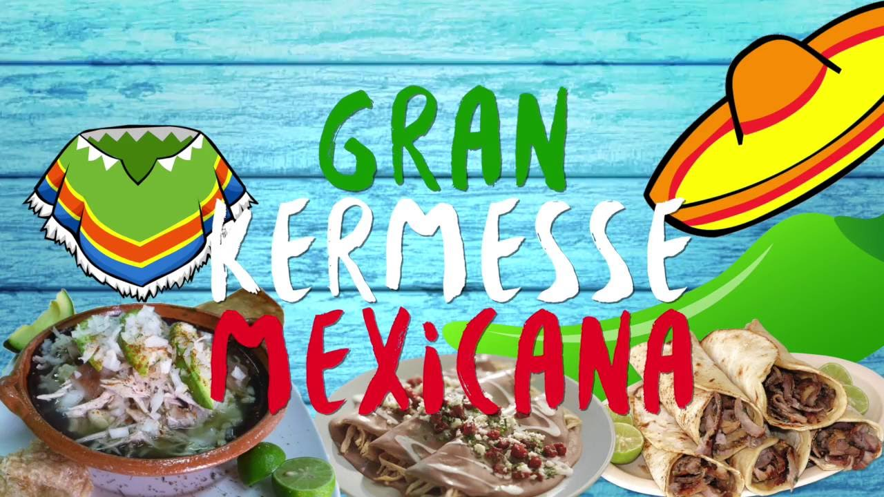 Gran kermesse mexicana youtube for Decoracion kermes mexicana