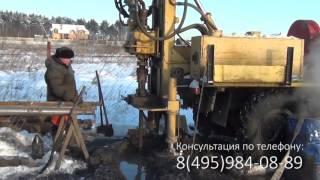 видео бурение скважин на воду московская