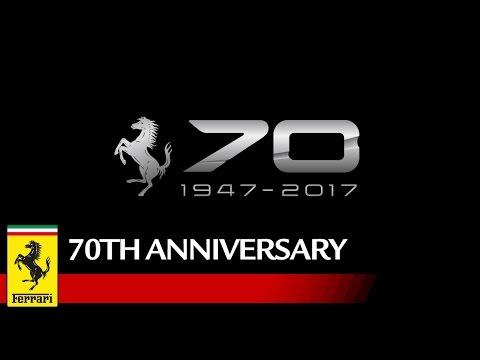 フェラーリ創始者の名を冠する新旧モデルがリレー フェラーリ70周年記念ムービー