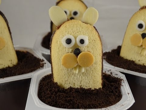Groundhog Day Pudding Cups -with Yoyomax12