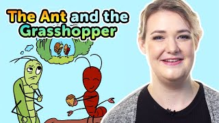 The Ant and the Grasshopper | Bedtime Stories | Story time | Made by Red Cat Reading