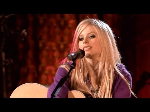 Avril Lavigne ☆ Nobody's Home ☆ Acoustic_live