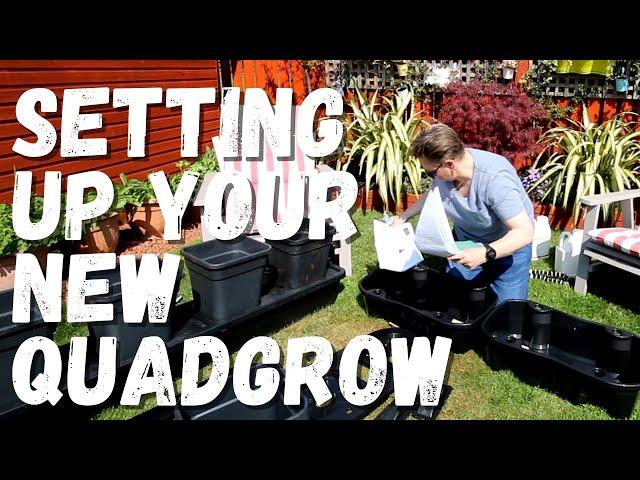 A quick run through of how to setup the new quadgrow