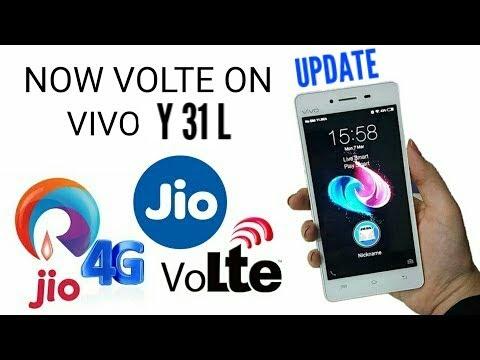 VIVO Y31L - firmware VOLTE UPDATE