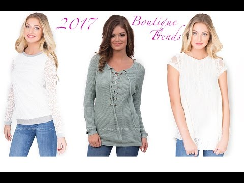 Boutique Style Trends for 2017 from Filly Flair