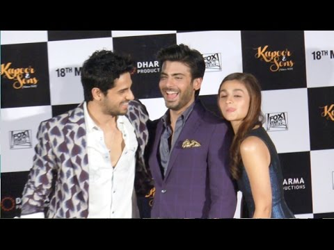 UNCUT: Kapoor & Sons Trailer 2016 Launch Event | Sidharth Malhotra, Alia Bhatt, Fawad Khan