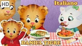 Daniel Tiger in Italiano - Mangiamo Gli Spaghetti! 🍝 | Video per Bambini