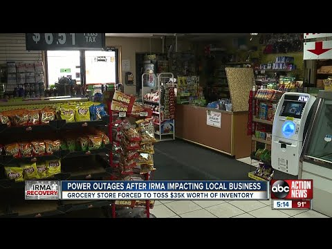 Hurricane Irma's Impact On Small Businesses Cuts Deep Into The Community.