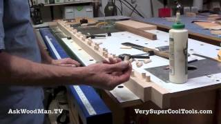 29 How To Build A Bed • Trimming Dowels On Slat Rails