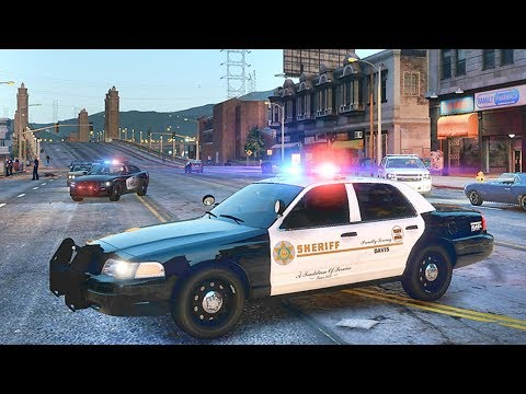 GTA 5 MODS LSPDFR 965  - LASD GANG UNIT PATROL!!! (GTA 5 REAL LIFE PC MOD)