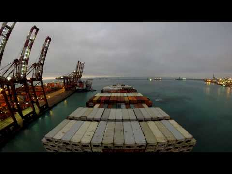 GoPro: Life at Container Ship