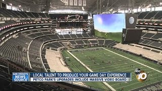 Padres Prepare Fan Experience at Petco Park