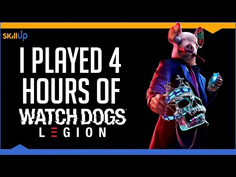 Watch Dogs Legion Left Me SERIOUSLY Impressed (Hands On Impressions)