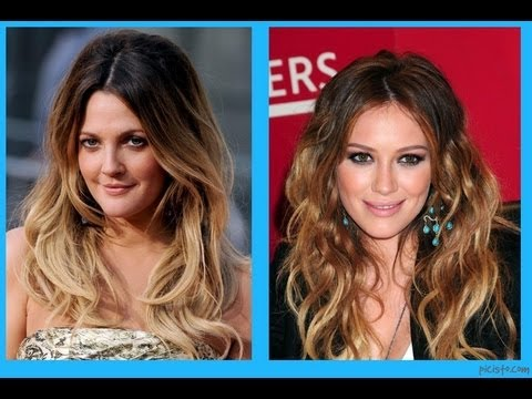 OMBRE HAIR ,Mechas californianas en casa