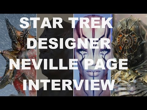 Exclusive: Neville Page On Designing Creatures For Star Trek Movies and Discovery - SDCC 2017