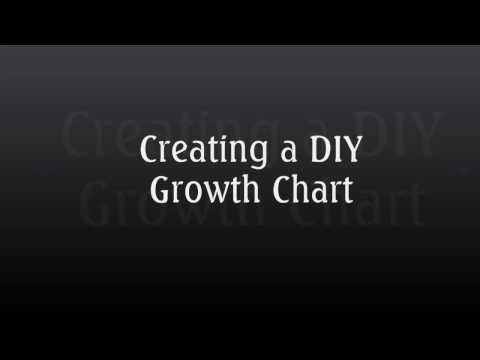Vintage Ruler Growth Chart Application