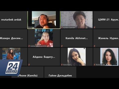 Сотрудники телеканала «Хабар» делятся опытом со студентами ЕНУ