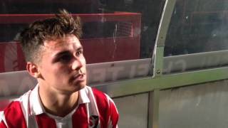 Goal scorer Billy Waters reflects on the 1-1 draw with Braintree