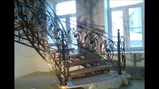 видео Где заказать кованую лестницу