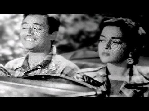 Jeevan Ke Safar Me Raahi - Kishore Kumar, Dev Anand, Nalini Jaywant, Munimji Song