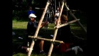 Trebuchet At Cedarlands Scout Camp