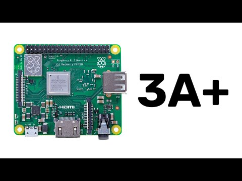 Introducing your new Raspberry Pi 3 Model A+