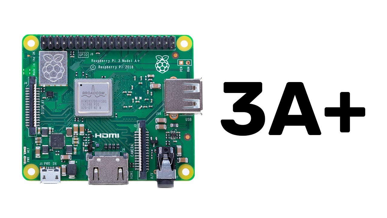 New product: Raspberry Pi 3 Model A+ on sale now at $25
