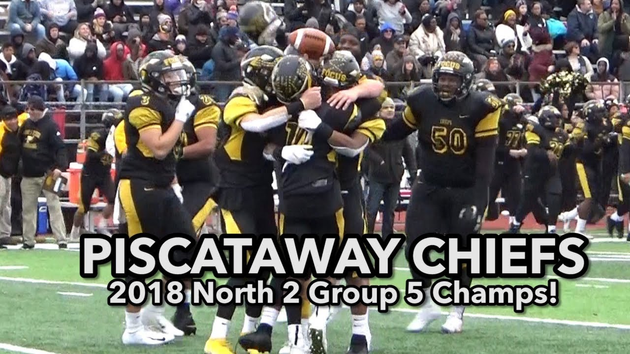 Piscataway 28 Union City 7 | North 2 Group 5 Final | Chiefs 10th sectional title