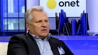 Aleksander Kwaśniewski: nie spodziewałem się, że władzę oddaje się tak trudno