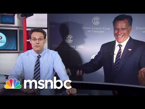 2016 Election: Will Mitt Romney Run Again? | msnbc