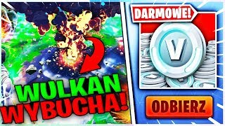 WIELKI EVENT WULKAN WYBUCHA * CUSTOMY SAJMON / SOLO * W FORTNITE