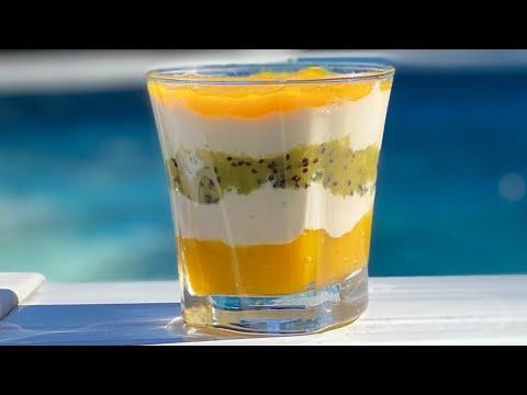 dessert-d'ÉtÉ-rafraÎchissant-aux-fruits-frais-🥭🥝-trÈs-rapide-et-lÉger---deli-cuisine