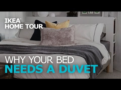 Duvet Covers & Bedding Ideas – IKEA Home Tour